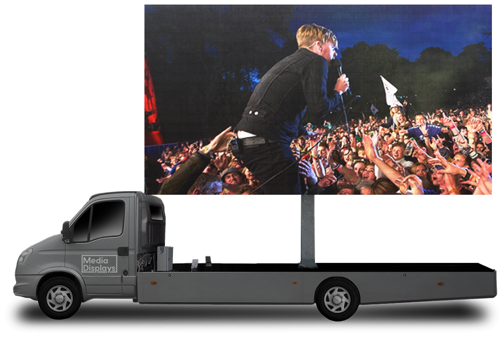 Mobile LED Screen Hire, Big Outdoor LED Screen Hire For Any Event