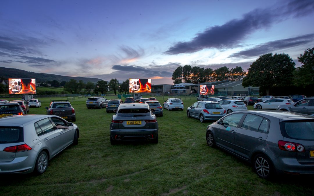 The drive-in cinema becomes the new date night