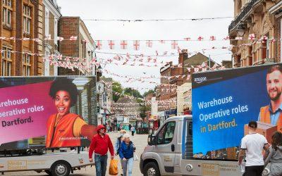 Digital marketing vans become recruitment lifeline for business